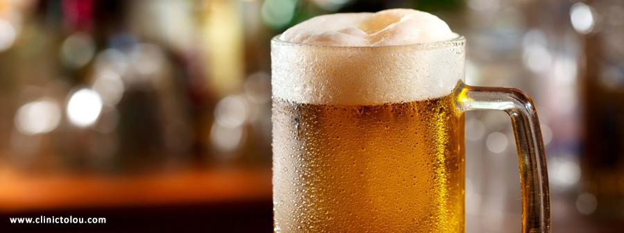 درمان سنگ کلیه با آبجو