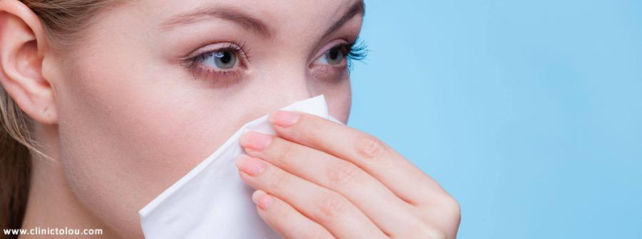 سوراخ شدن بینی با مصرف کوکائین