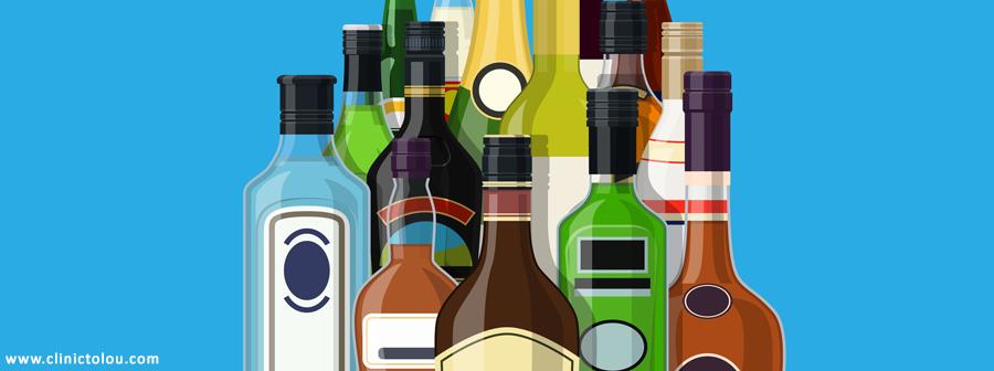 علائم مسمومیت با الکل